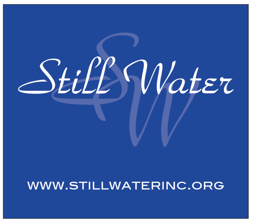 Still Water stylized logo